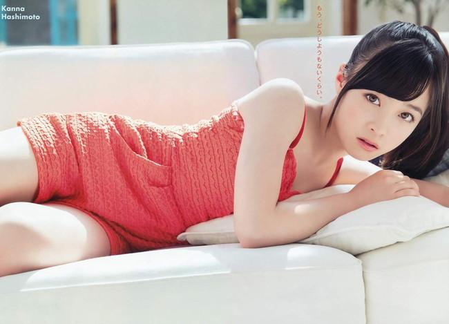 【ヌード画像】橋本環奈の天使すぎるセクシーグラビア画像(31枚)