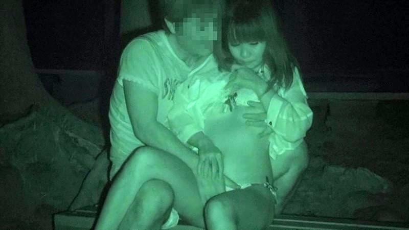 【ヌード画像】公園での素人SEXを赤外線盗撮した画像集!盗撮されようが蚊に刺されようがとにかくSEX!ww(50枚)