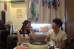 【盗撮動画】一人暮らし大学生、彼女を部屋に呼んでセックスして鍋パーティーしてまたセックスwwその一部始終を盗撮してた鬼畜彼氏ww