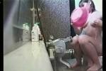 【盗撮動画】近くのスーパー銭湯の女湯の洗い場に隠しカメラを設置することに成功しました!素人OLちゃんの無防備なシャワーシーンをご堪能くださいw