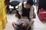 【盗撮動画】万引きしちゃった素人JKは店長とセックスすることで許されたみたいだけど、防犯カメラでばっちり盗撮されてたからこの店長は許されなかったみたいだねww