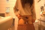 【盗撮動画】超カワイイ素人10代娘がショッピングモールの多目的トイレで用を足してアソコ丸出し状態にしてくれてる所完全盗撮!w【無修正】