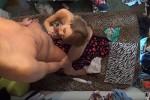 【盗撮動画】彼女との自宅セックスを内緒で隠し撮りしちゃうギャル男w金髪褐色黒ギャル素人彼女の優しい手コキとフェラがエロ過ぎ!w
