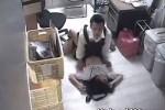【盗撮動画】優等生っぽい女の子ほど万引きしちゃう!捕まり事務所で鬼畜店長に寝撮られレイプナマ挿入されちゃう素人美少女ちっぱい制服JKが防犯カメラで盗撮されましたw